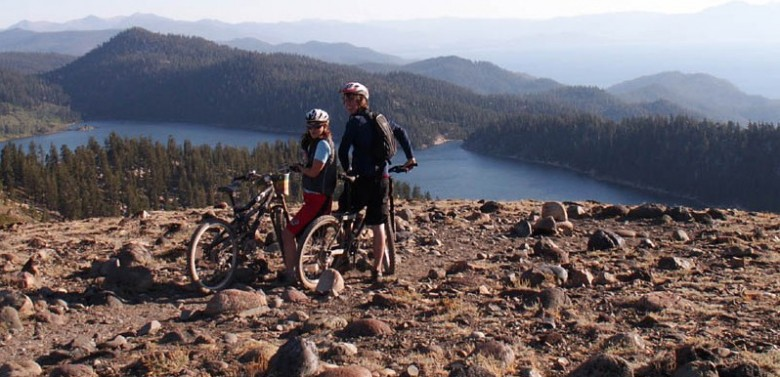 The Beautiful Mountain Bike Trails in Lake Tahoe